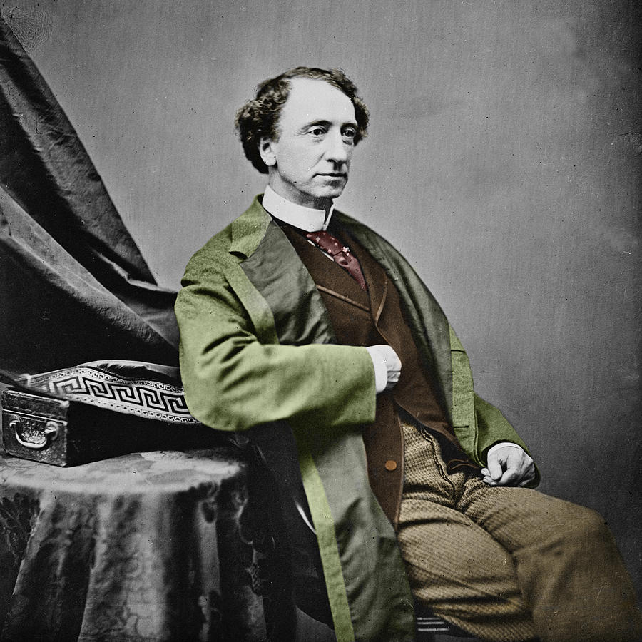 Sir John A. Macdonald Photograph  - Sir John A. Macdonald Fine Art Print