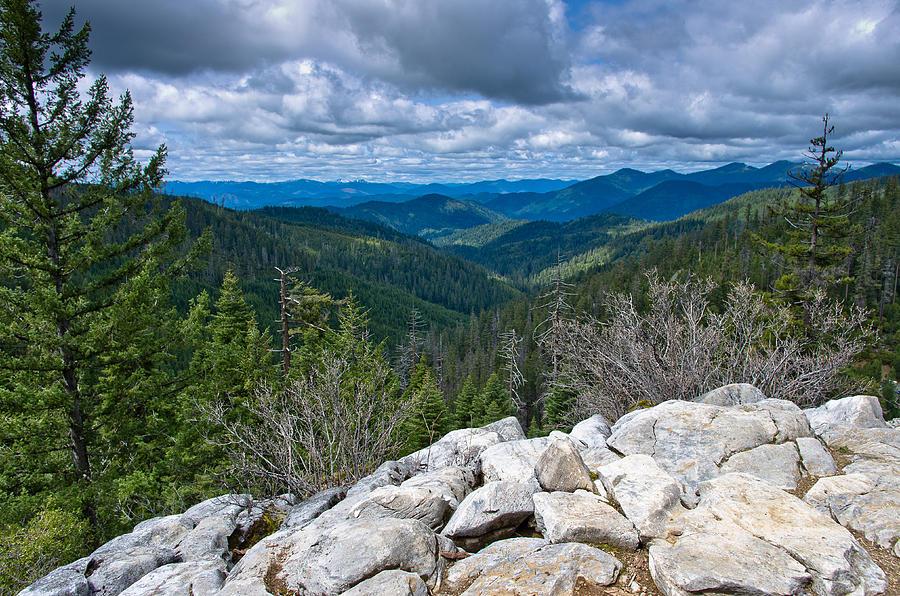 Siskiyou Mountains Photograph By Greg Nyquist