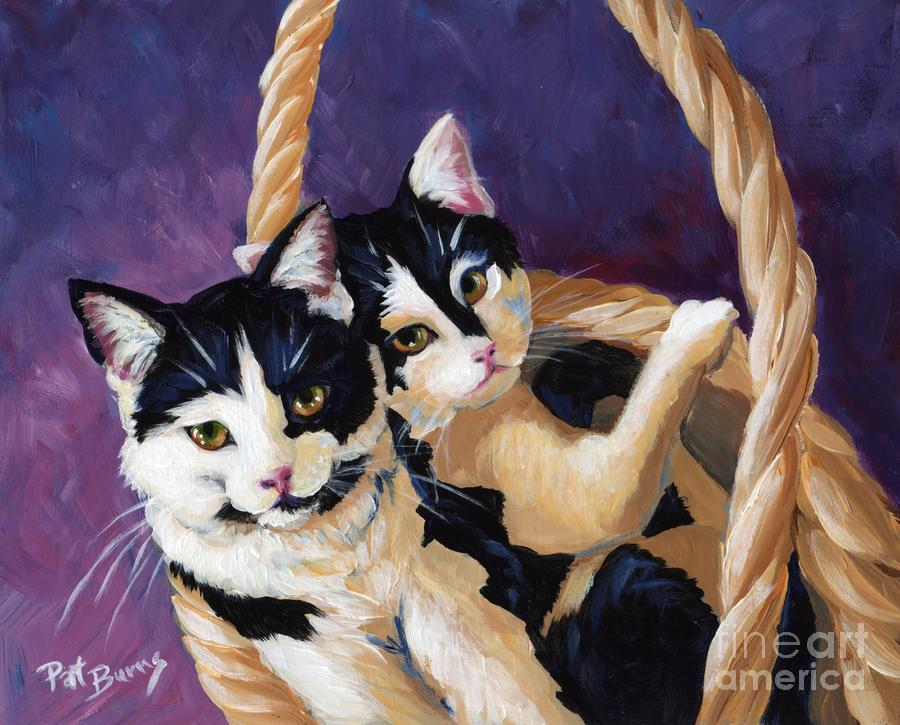 Sisters Painting  - Sisters Fine Art Print
