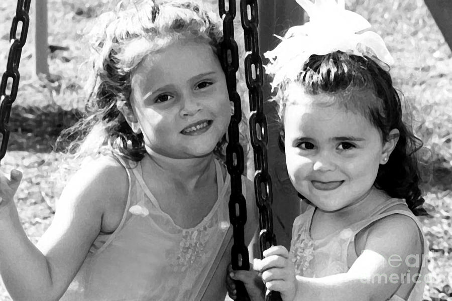 Sisters Portrait Photograph