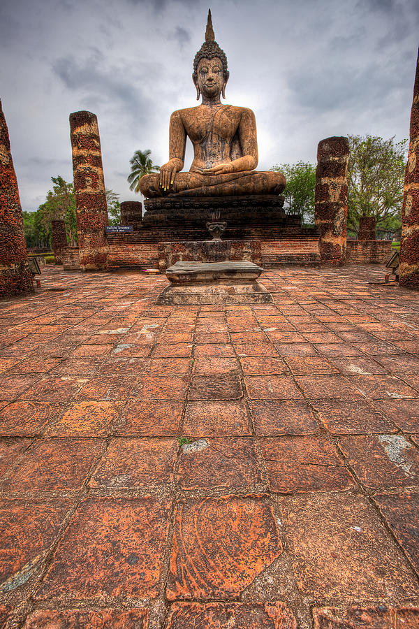 Sitting Buddha Photograph