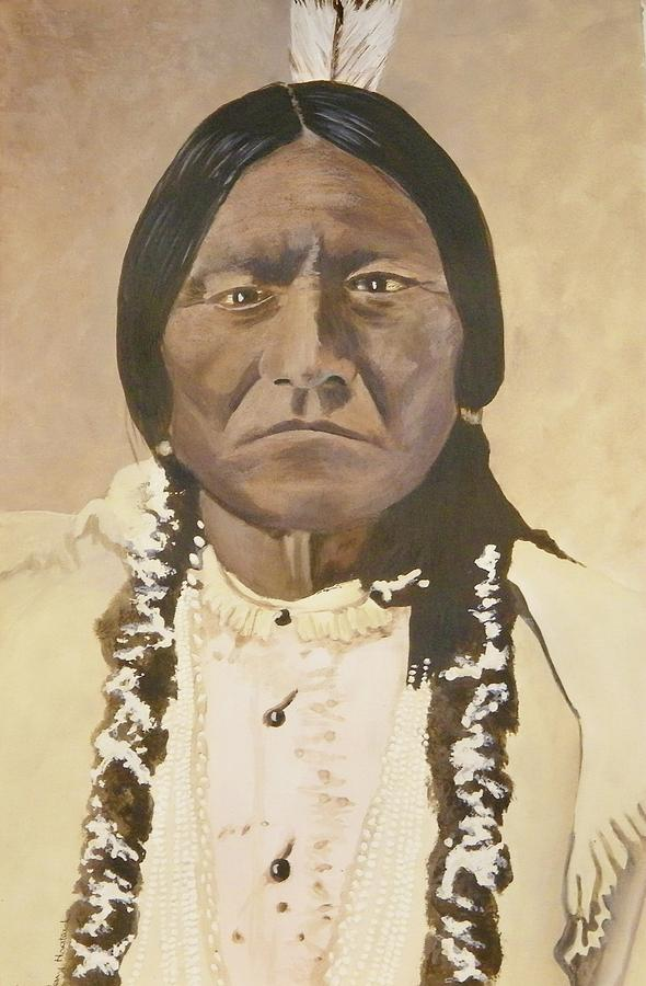 sitting bull by terry honstead. Black Bedroom Furniture Sets. Home Design Ideas