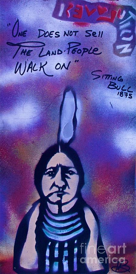 Sitting Bull...land Painting