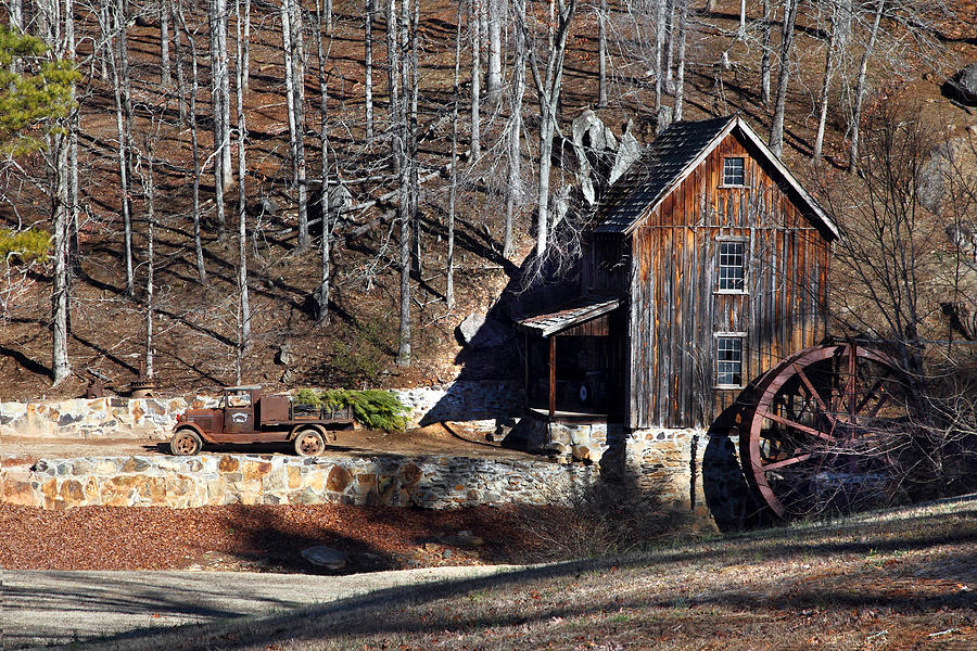 Sixes Mill Photograph  - Sixes Mill Fine Art Print