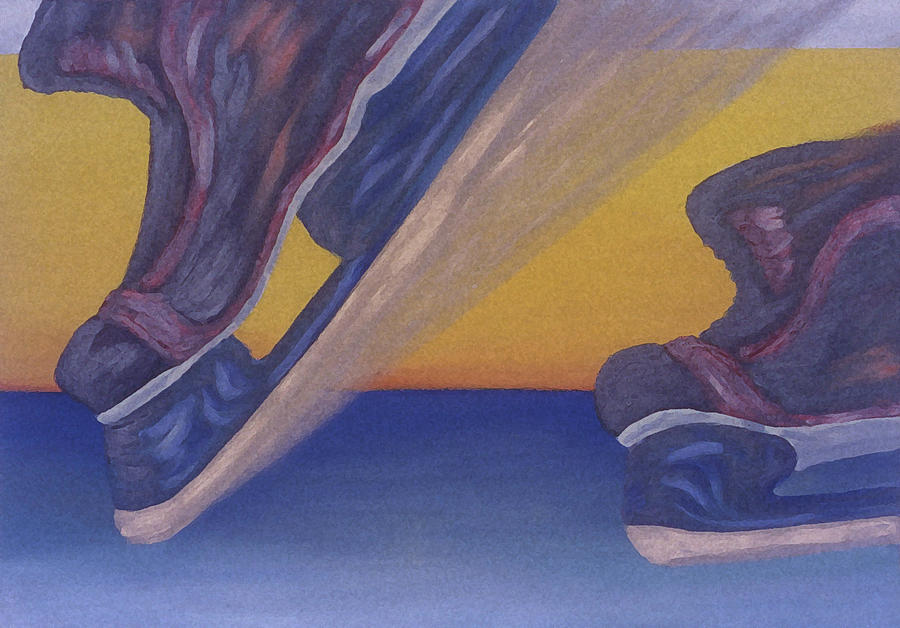 Skates Painting
