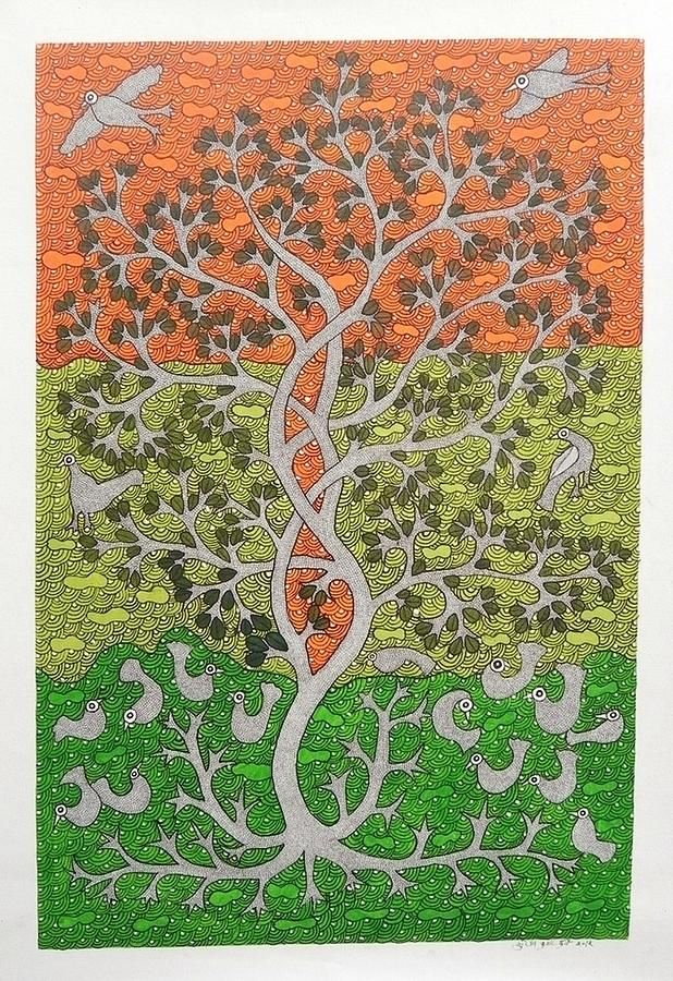 Skd 306 Tree Of Life Painting