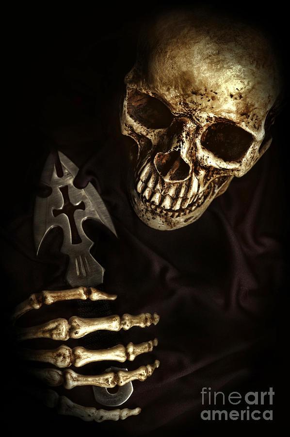 Skeleton Hand Holding Knife Skeleton holding knifeXray Hand Holding