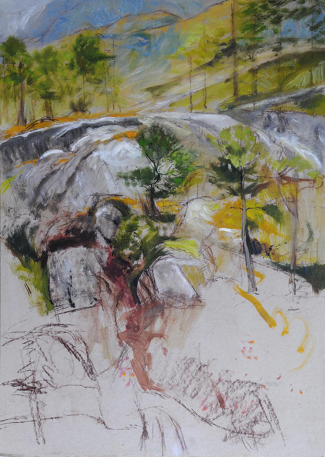 Sketch For Ogwen Painting Painting