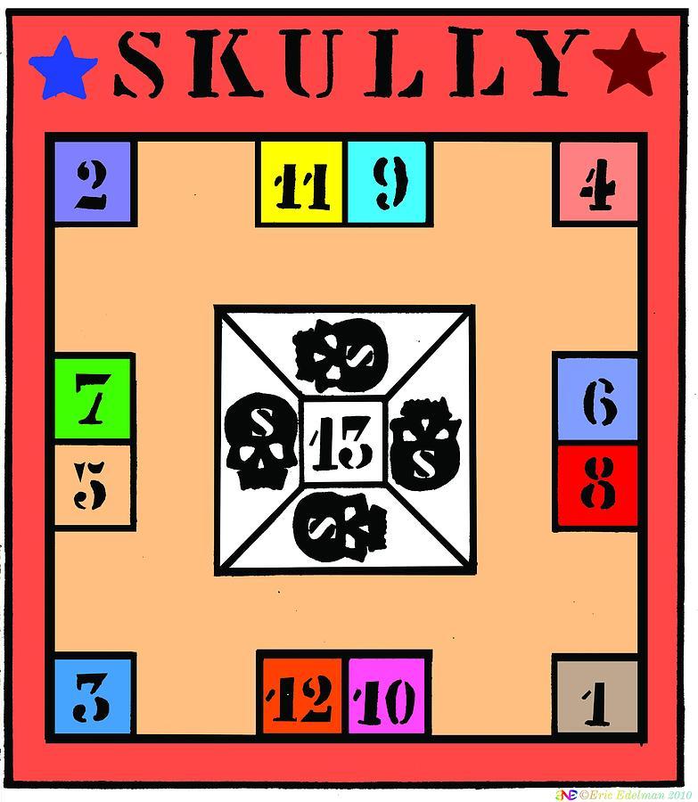 Skully Board Digital Art