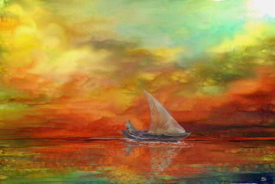Sky 2 Painting