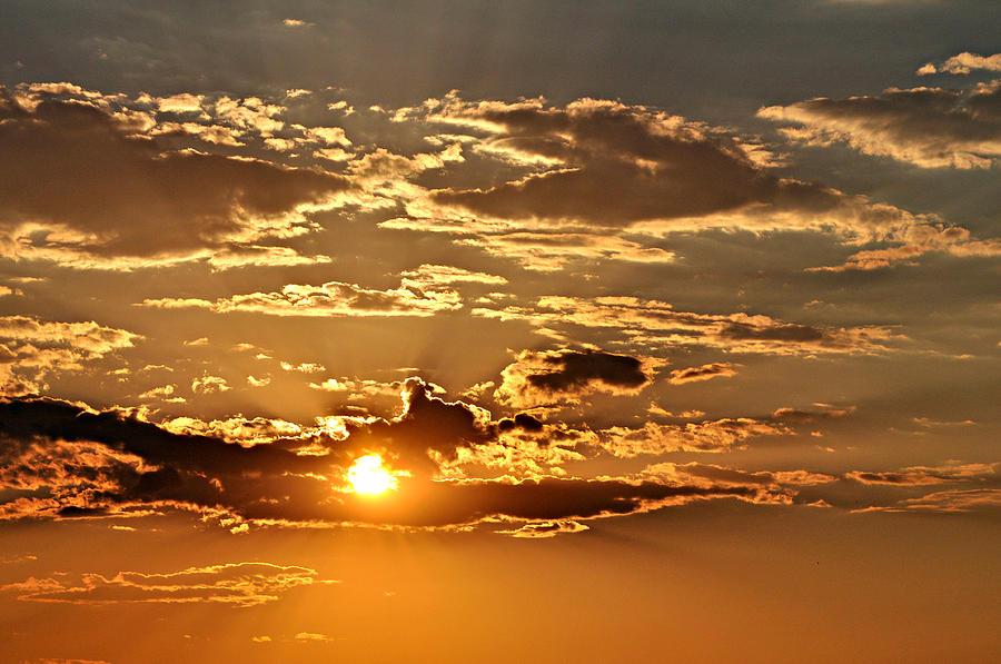 Sky Ablaze 1 Photograph