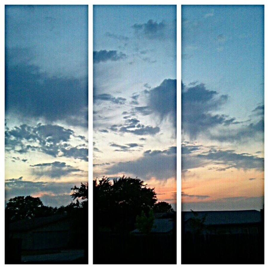 Andrography Photograph - #sky #sunset #clouds #andrography by Kel Hill
