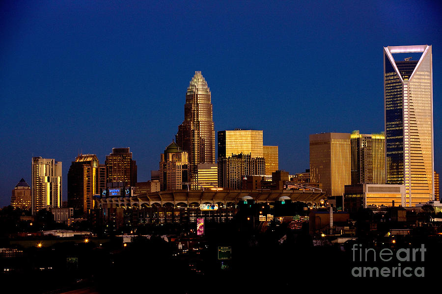 Skyline At Dusk Photograph