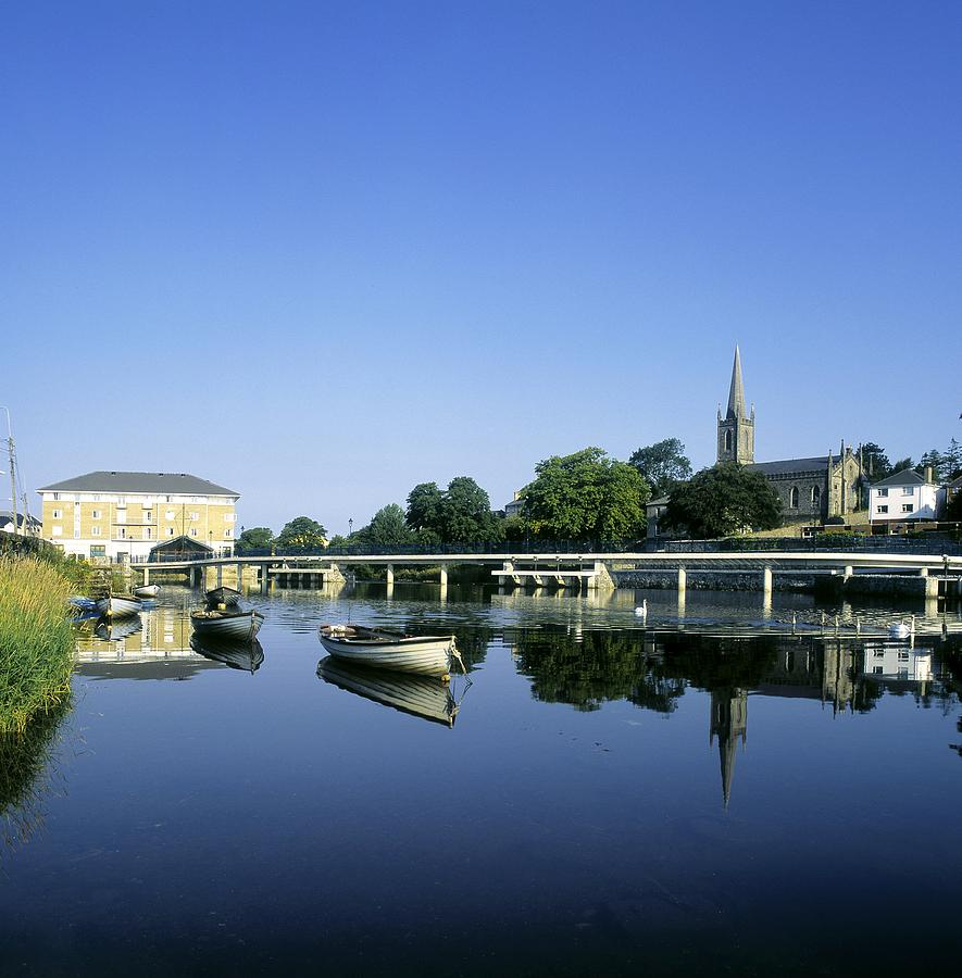 Skyline Over The River Garavogue, Sligo Photograph