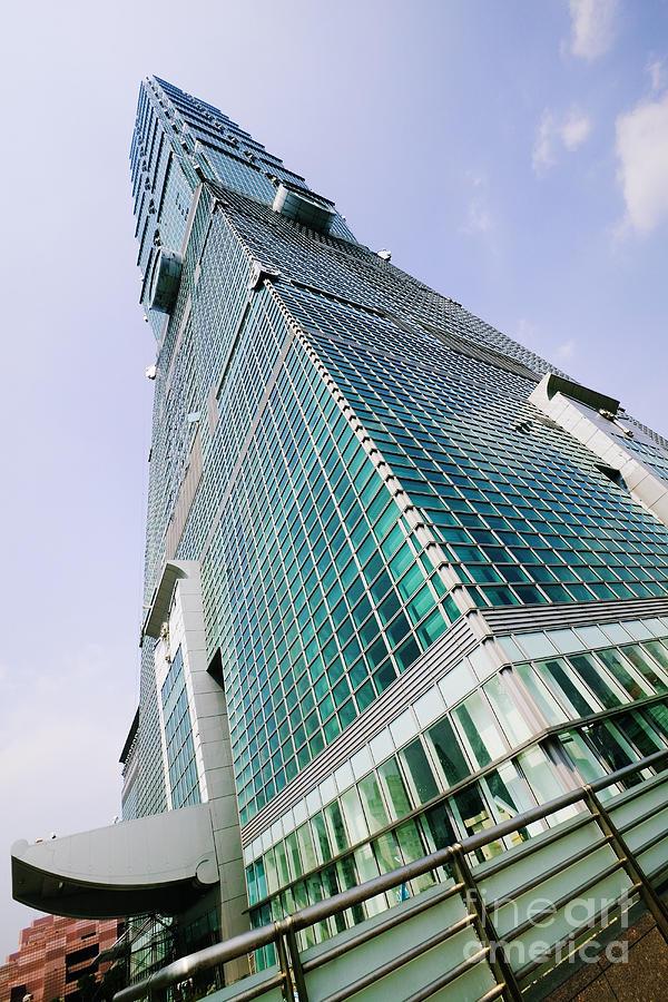 Skyscraper, Taipei 101 Building Photograph