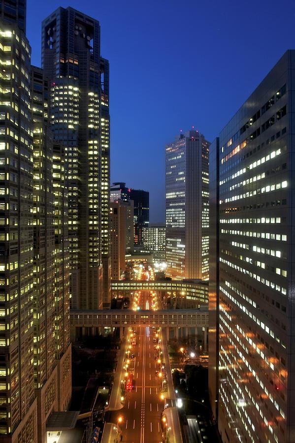 Skyscrapers Of Shinjuku, Tokyo Photograph