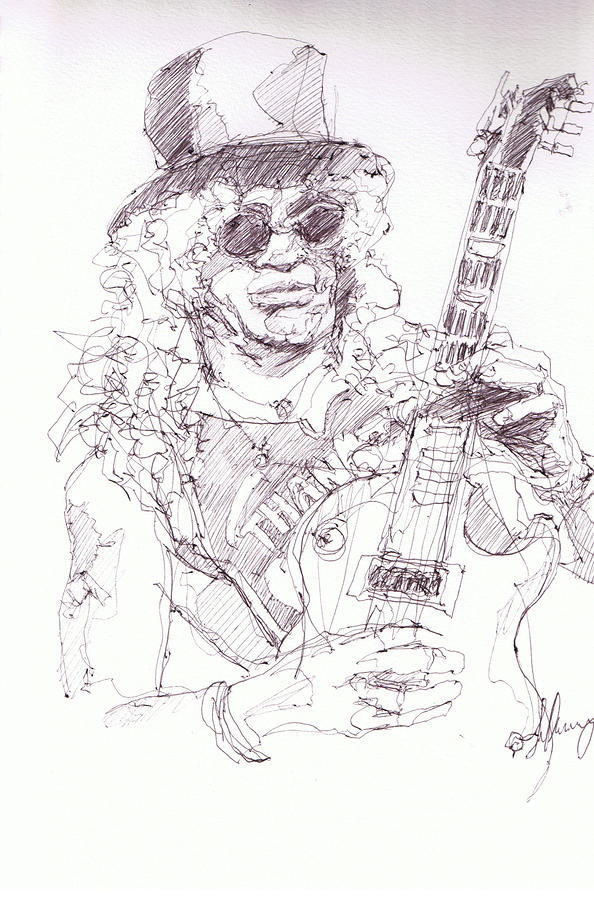 Slash - Solo Drawing