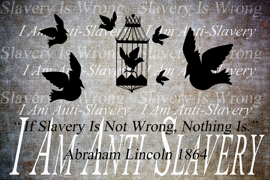 Slavery Mixed Media  - Slavery Fine Art Print