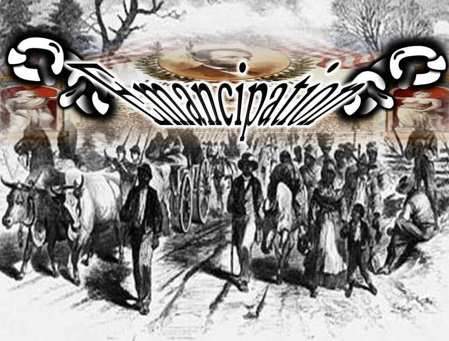 Slaves Traveling To Freedom Land Digital Art
