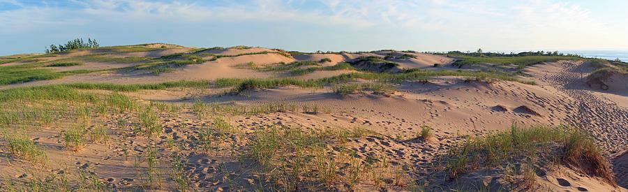 Sleeping Bear Dunes Panorama Photograph