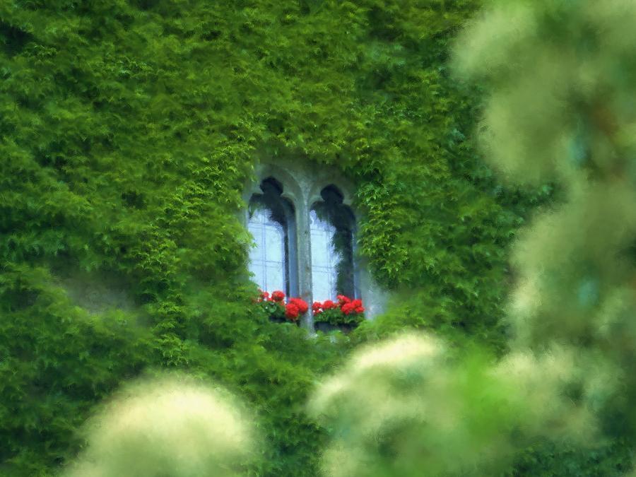 Arthur V. Kuhrmeier Photograph - Sleeping Beautys Castle -- Dornroeschens Schloss by Arthur V Kuhrmeier