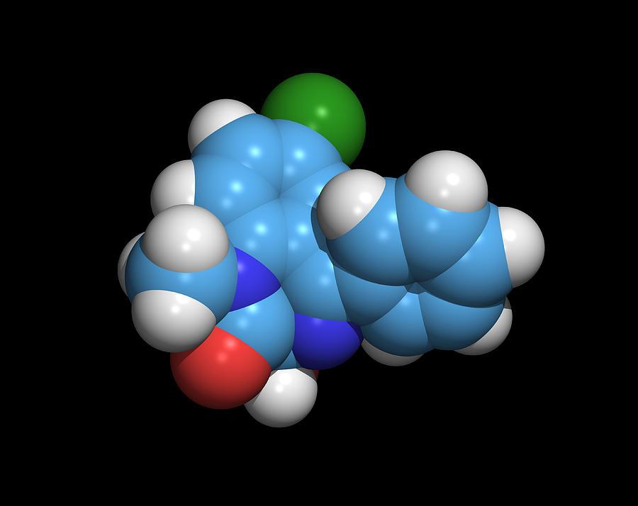 Sleeping Pill Molecule Photograph