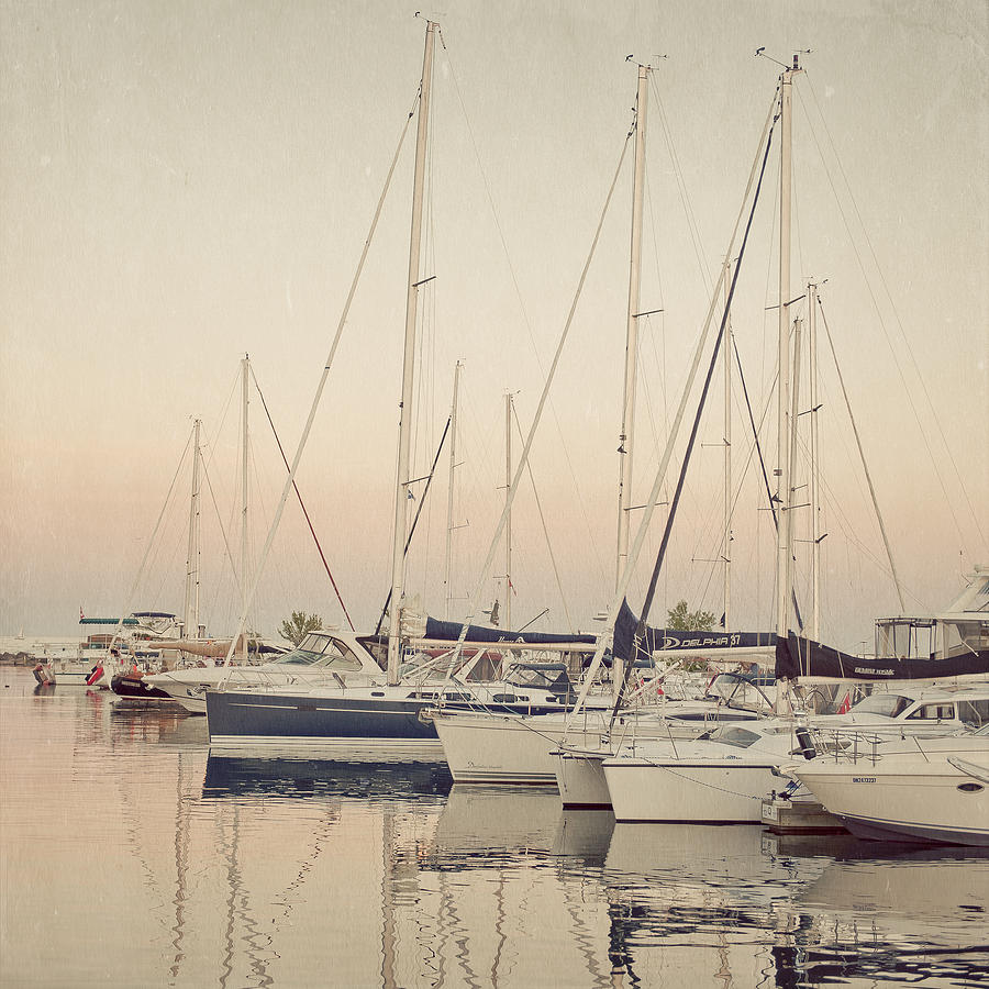 Sleeping Yachts Photograph  - Sleeping Yachts Fine Art Print