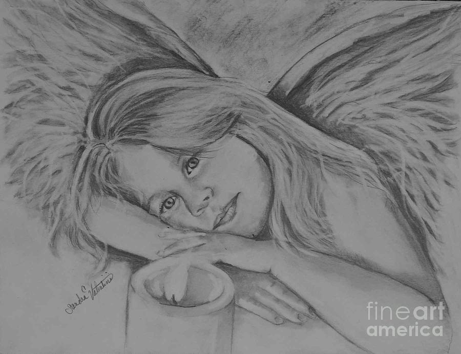 Beautiful pencil sketches of angels image of beautiful pencil sketches of angels pictures on beautiful pencil sketches of angels