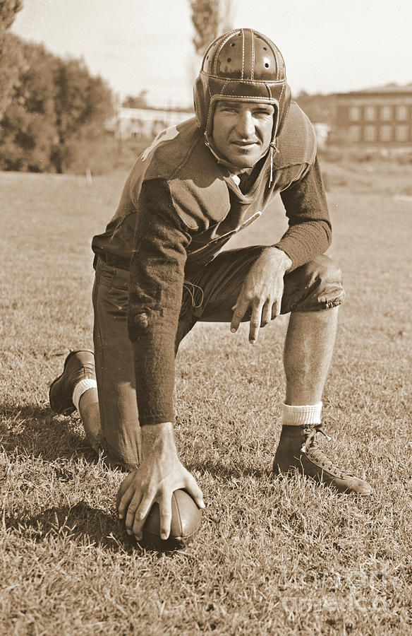 Slingin Sammy Baugh 1937 Sepia Photograph