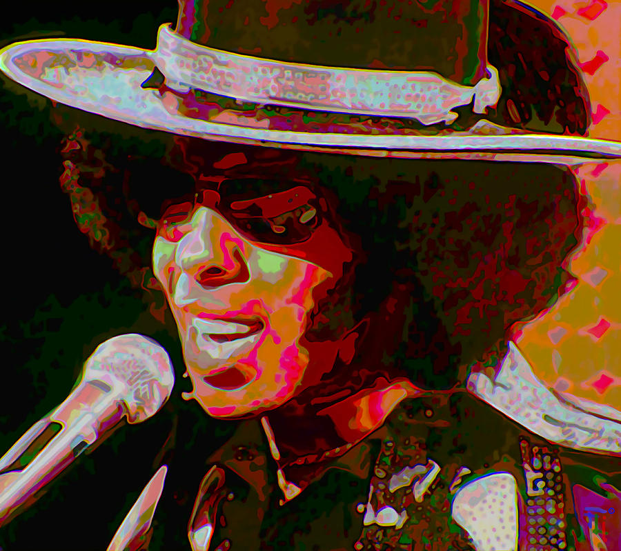 Sly Stone Digital Art