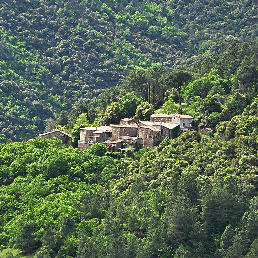 Small House On Mountain Photograph