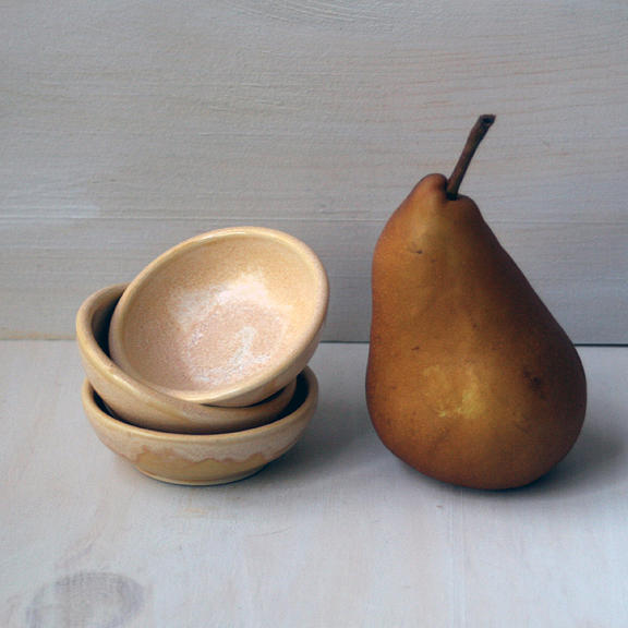 Small Kitchen Prep Bowls Ceramic Art