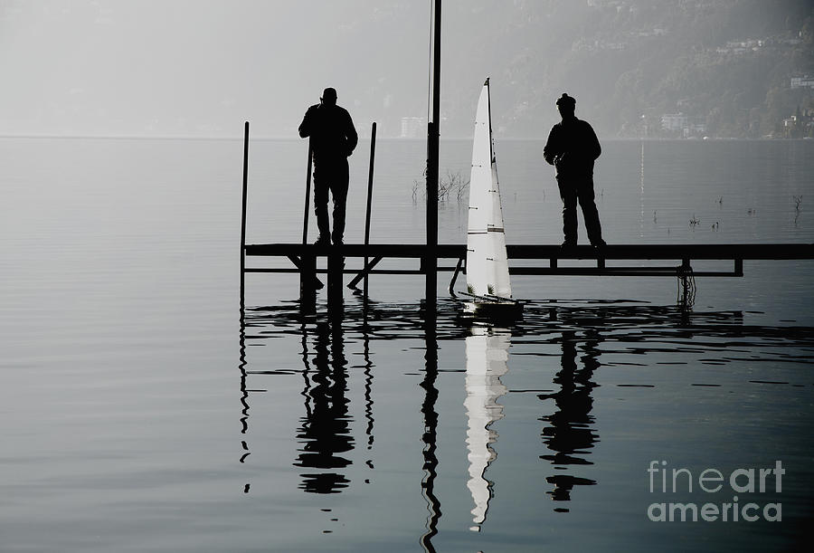 Small Sailing Boat Photograph