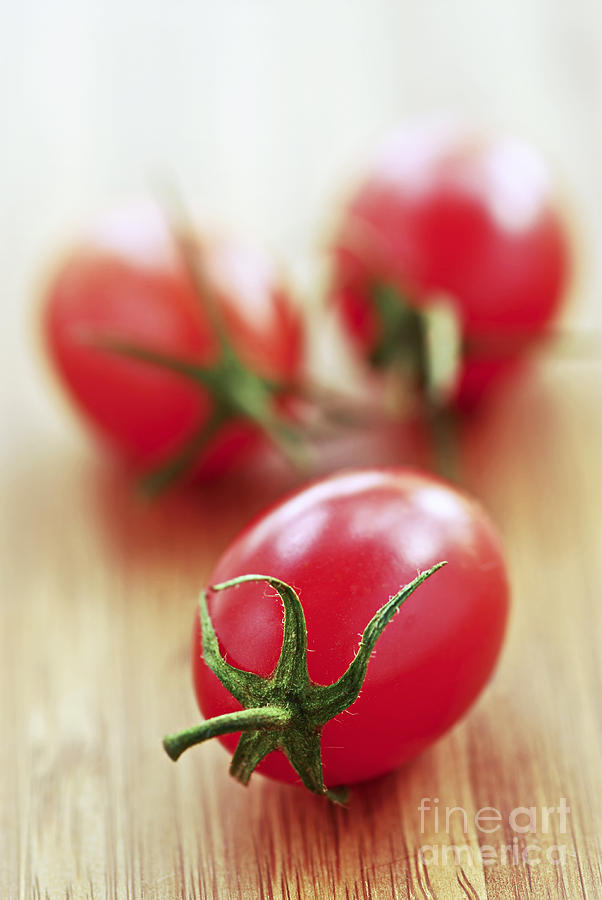 Small Tomatoes Photograph  - Small Tomatoes Fine Art Print