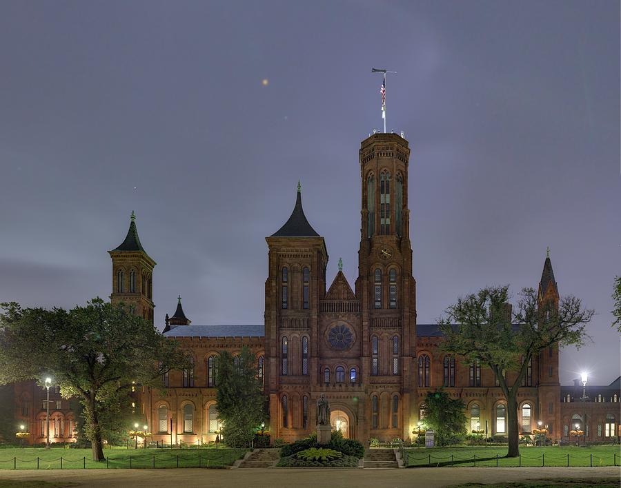 Smithsonian Castle Photograph