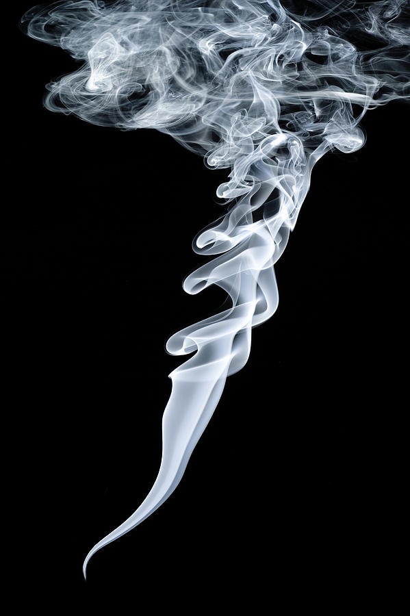 Smoke Patterns Photograph  - Smoke Patterns Fine Art Print