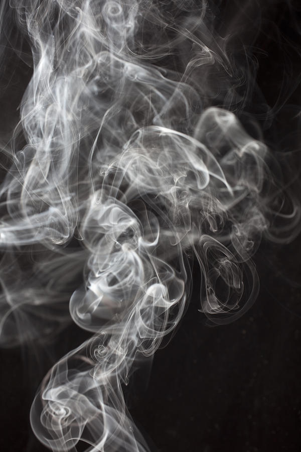 Smoke Swirls  Photograph