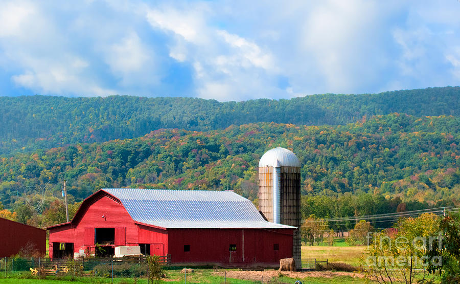Smokie Mountain Barn Photograph  - Smokie Mountain Barn Fine Art Print