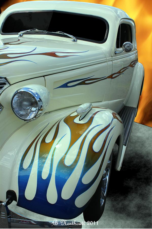 Smokin Hot - 1938 Chevy Coupe Photograph