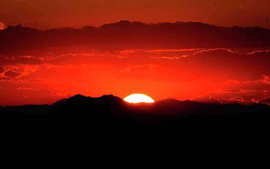Snake River Plain Sunset Photograph
