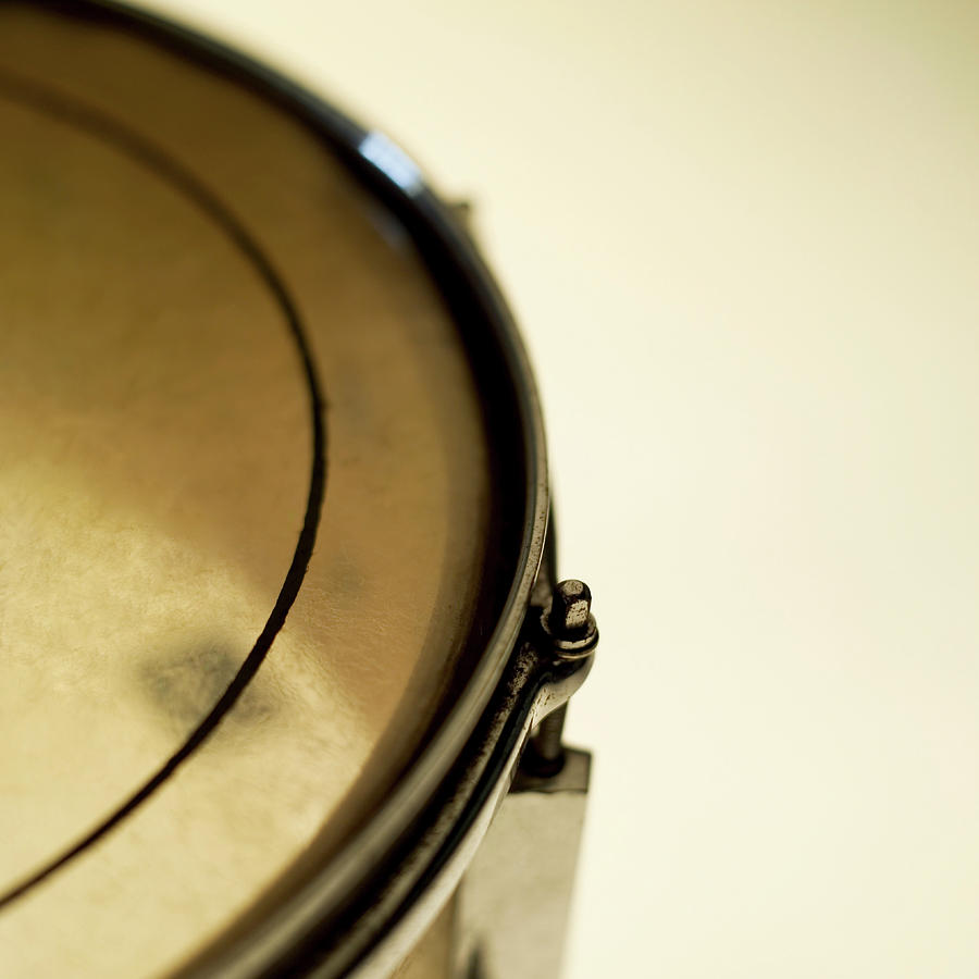 Snare Drum, Close-up And Cropped Photograph  - Snare Drum, Close-up And Cropped Fine Art Print