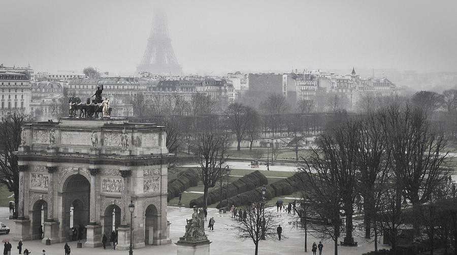 Sneaky Eiffel Photograph