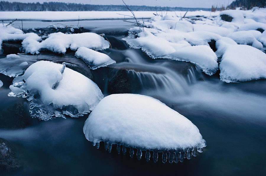 snow rocks nature ice - photo #43