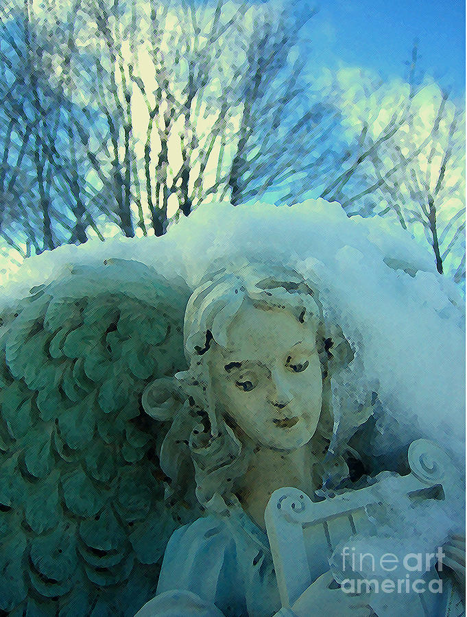 Snow Angel II Photograph  - Snow Angel II Fine Art Print