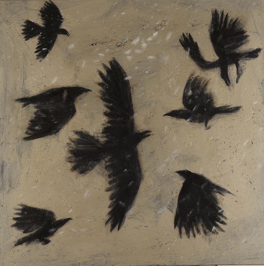 Black Crow Paintings -...