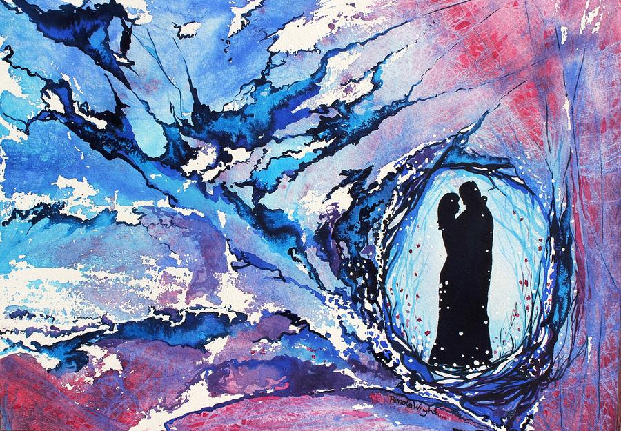 Snow Dance Painting  - Snow Dance Fine Art Print