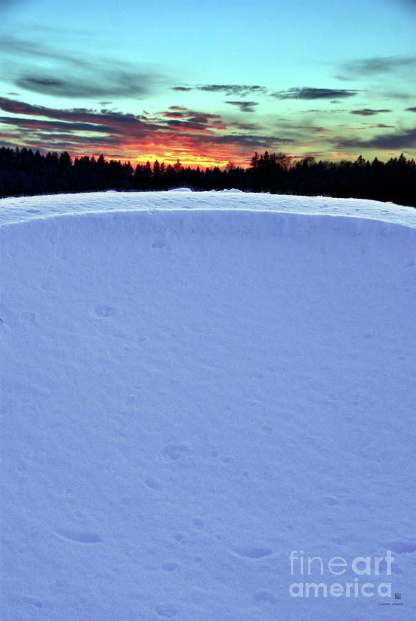 Snow Drift Photograph