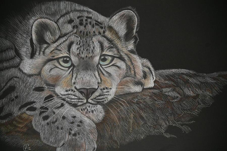 Snow Leopard Pastel