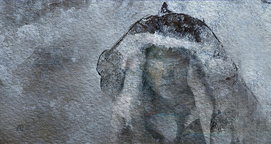 Snow Maiden Digital Art  - Snow Maiden Fine Art Print