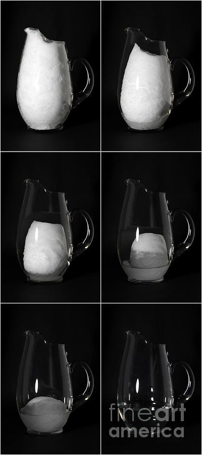 Snow Melting Photograph